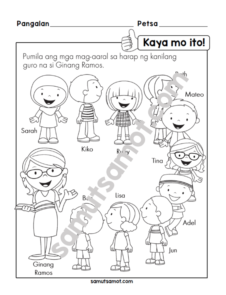 Filipino Worksheets Archives Samut Samot Worksheets Filipino Words Filipino