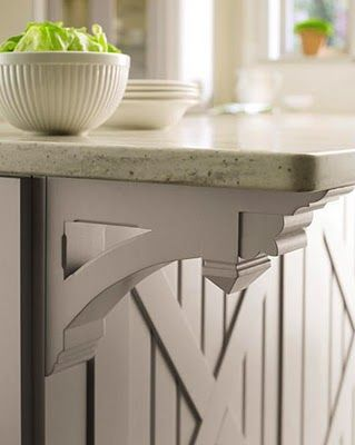 Send Pics Of Formal Islands With Corbels   Kitchens Forum   GardenWeb | For  The Home | Pinterest | Formal, Kitchens And House