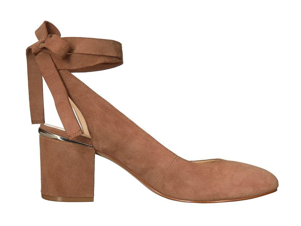 7eb4d31e9408 Nine West Andrea Women s Shoes Natural Suede