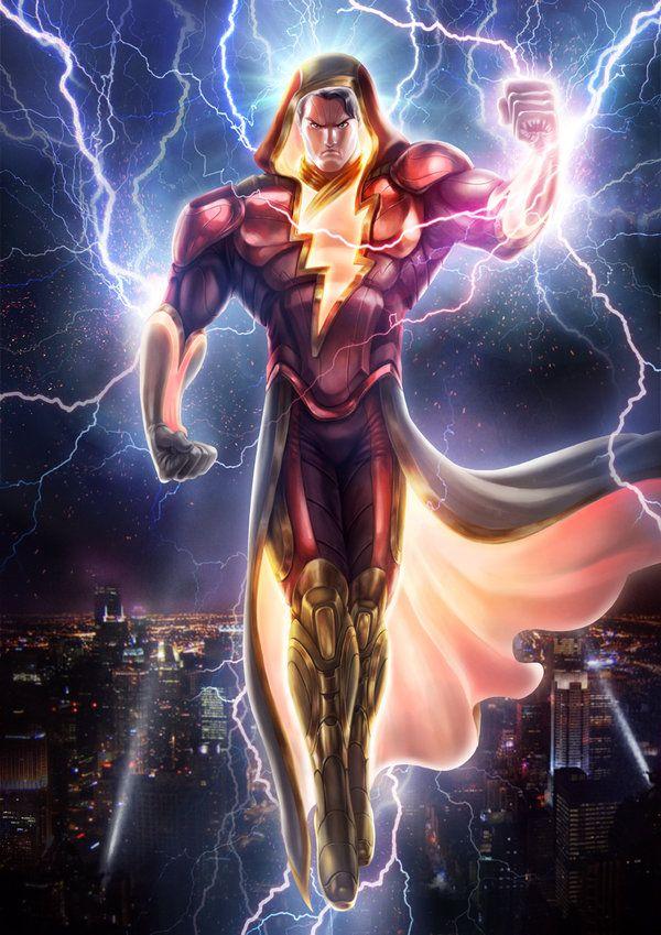 Shazam By Bram Lee Captain Marvel