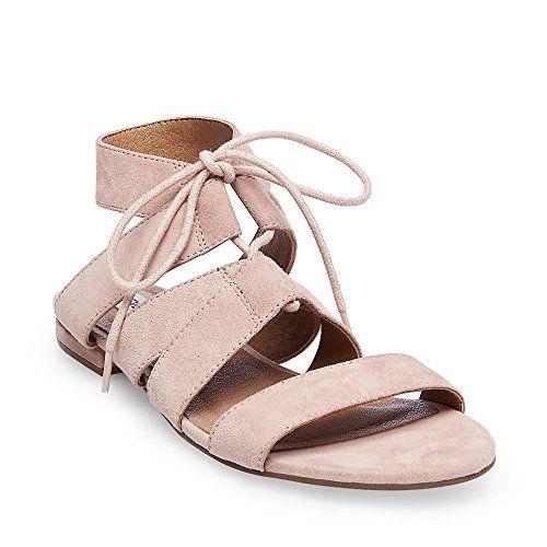 006905d3c52a Steve Madden womens august flat sandal light pink