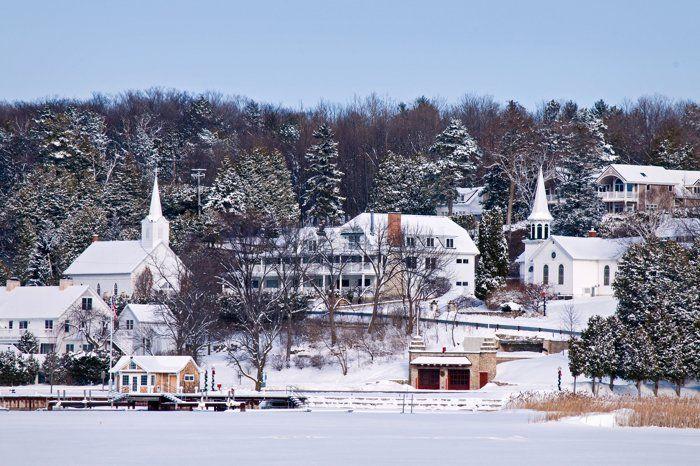 Winter In Door County Ephraim Door County Wisconsin Door County Outdoor