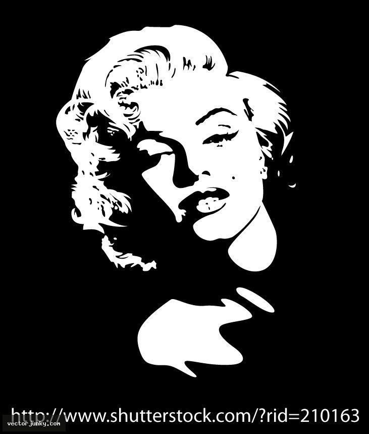 Marilyn Monroe Face Silhouette Tattoo 4bc6b9ea5204d8ba4781a4d19eadf ...