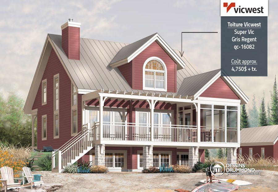 Détail du plan de Maison unifamiliale W3937 House Plans
