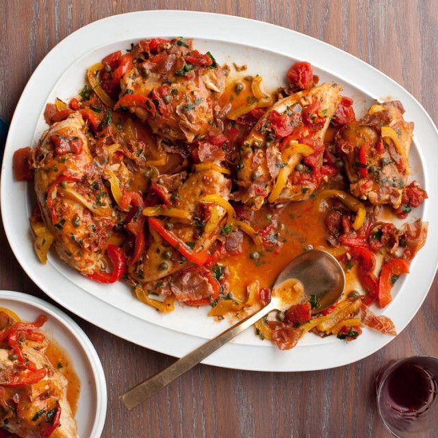 Roman-Style Chicken | Recipe | Giada de Laurentiis, Roman and Recipes
