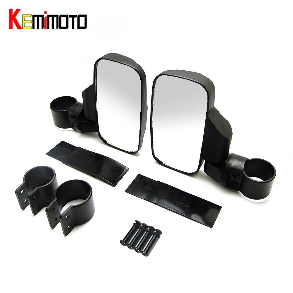 """2/""""//1.75/""""Break-Away Side Mirrors Rubber Pad Rear View mirror"""