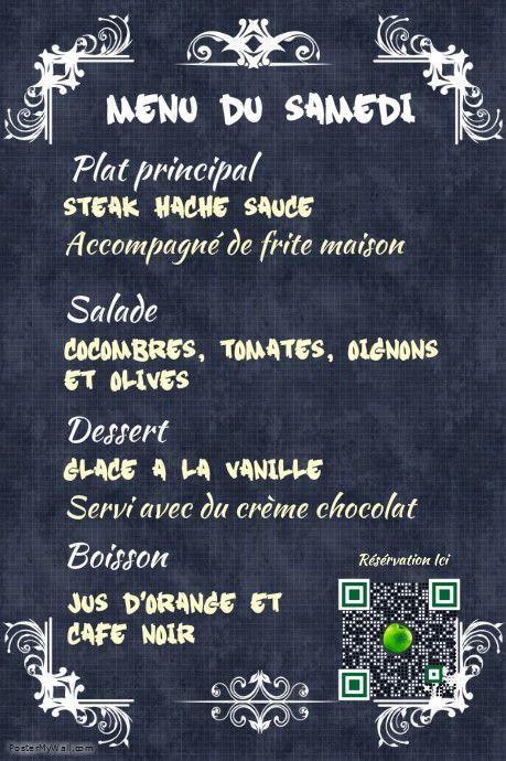 Pin de ai 💡 en Flyer pour restaurant | Pinterest