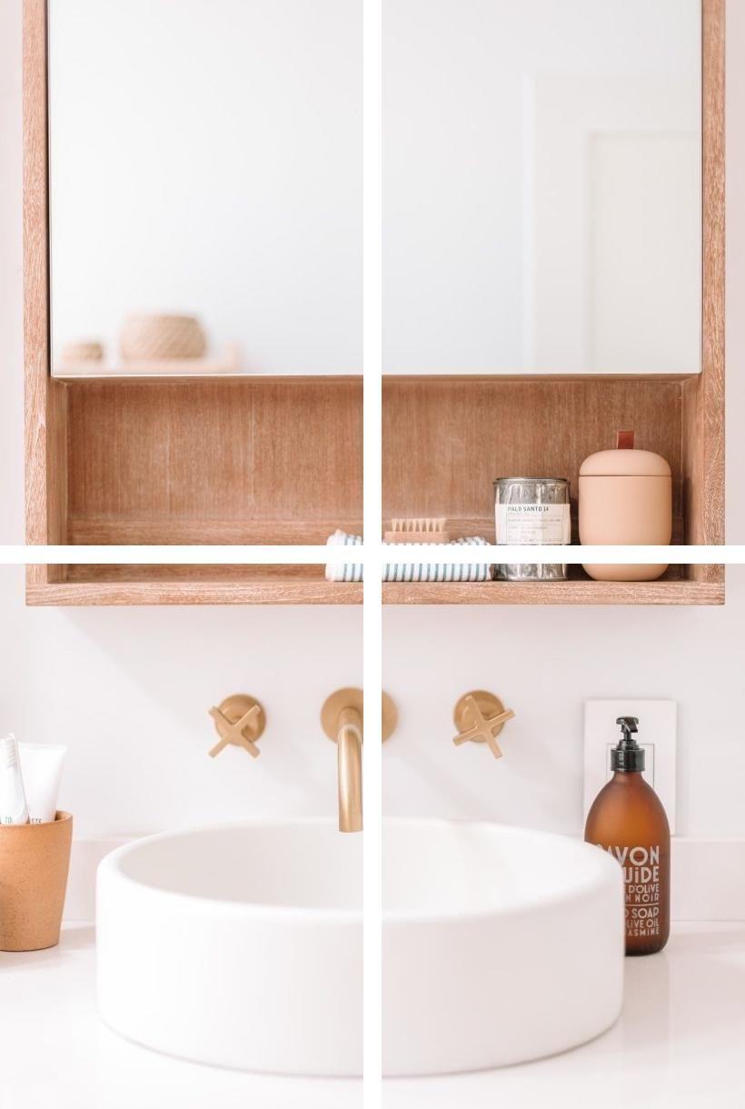 Peach Bathroom Decor Stone, Peach Bathroom Accessories