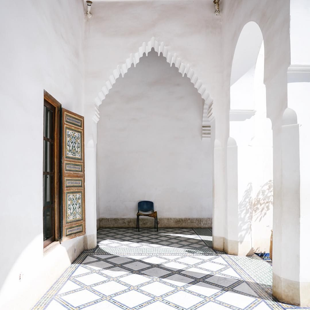 White archways, moroccan tiles | homie | Pinterest | Moroccan ...