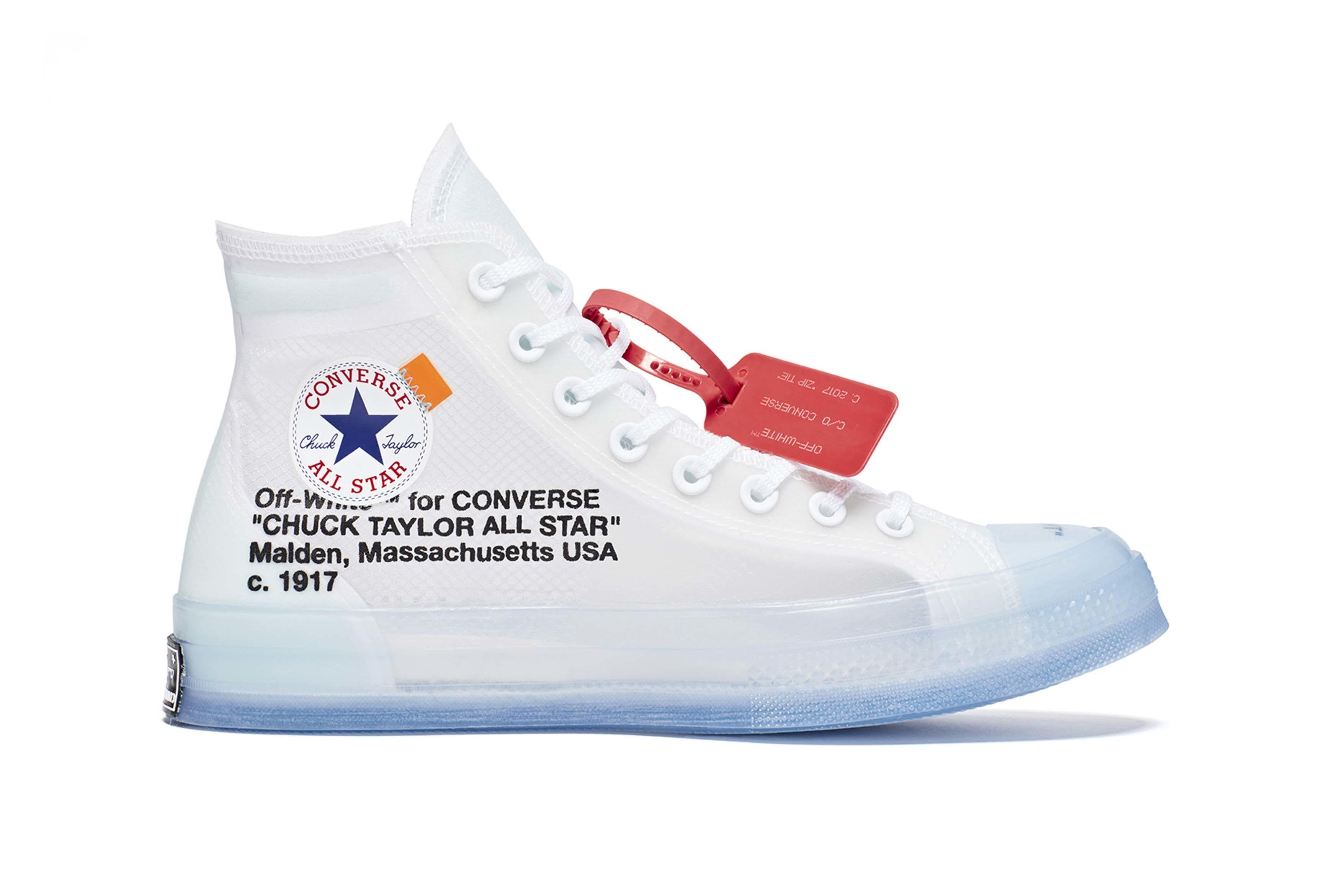 Converse X Off White Chuck 70 Hier Konnt Ihr Euch Fur Raffles Eintragen Mit Bildern Chuck Taylors Sneaker Stiefel Converse