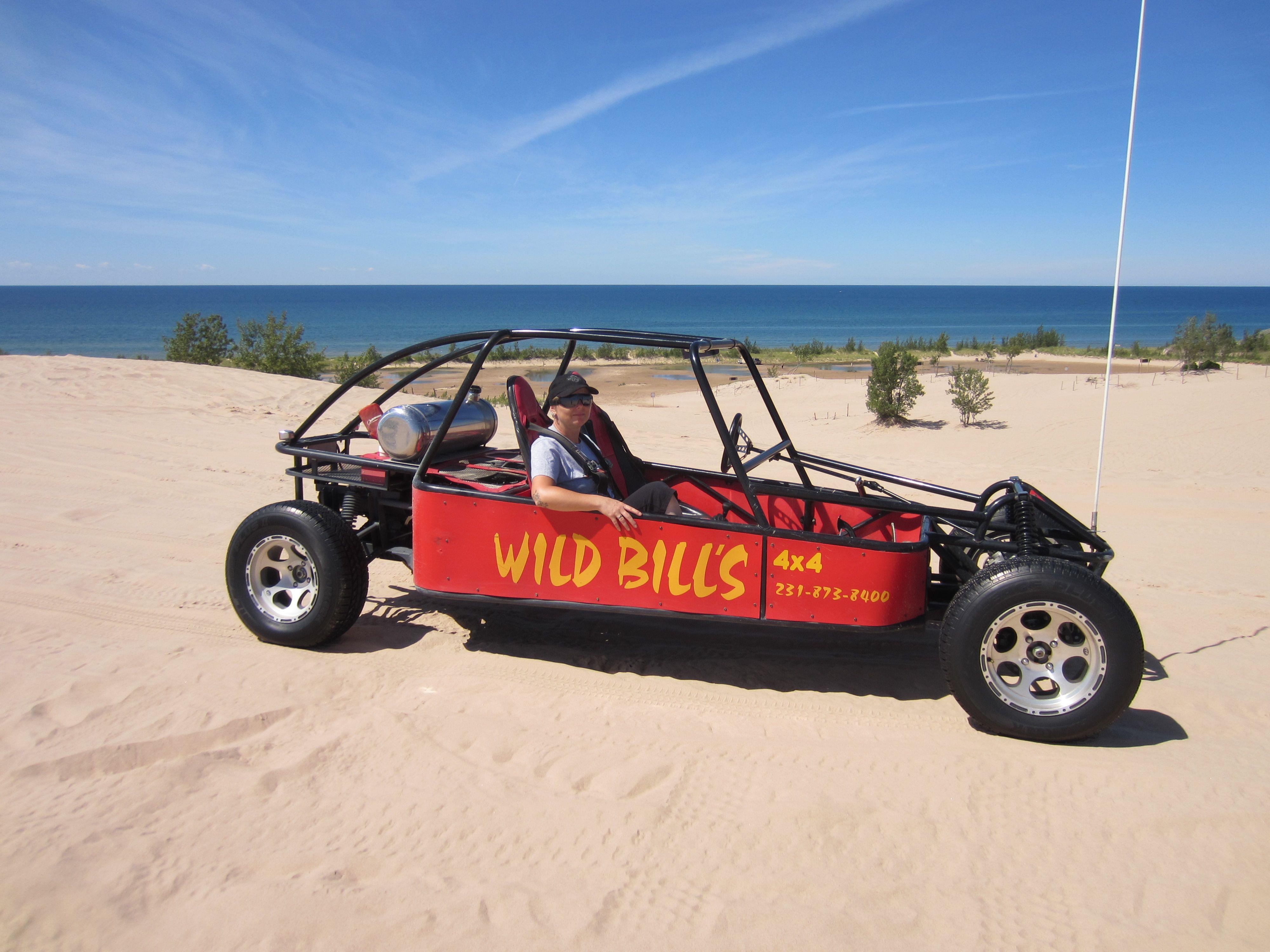 Dune Buggy rental Wild Bill's at Silver Lake Dunes Lake