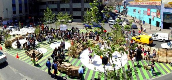Metro Mobilier Restaurant Tactical Urbanism And Placemaking In Chile | Making Places