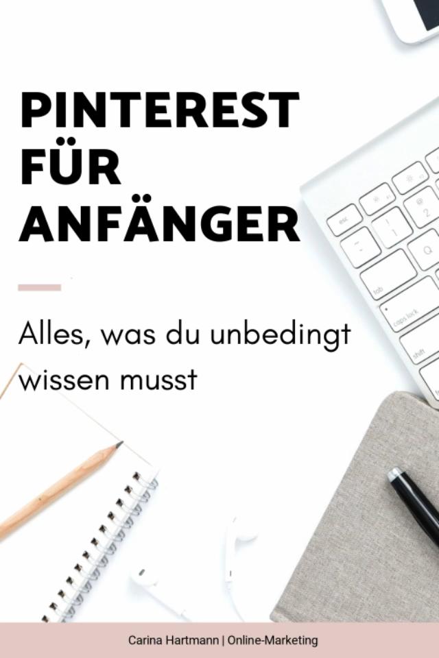 Pinterest für Anfänger - die komplette Anleitung