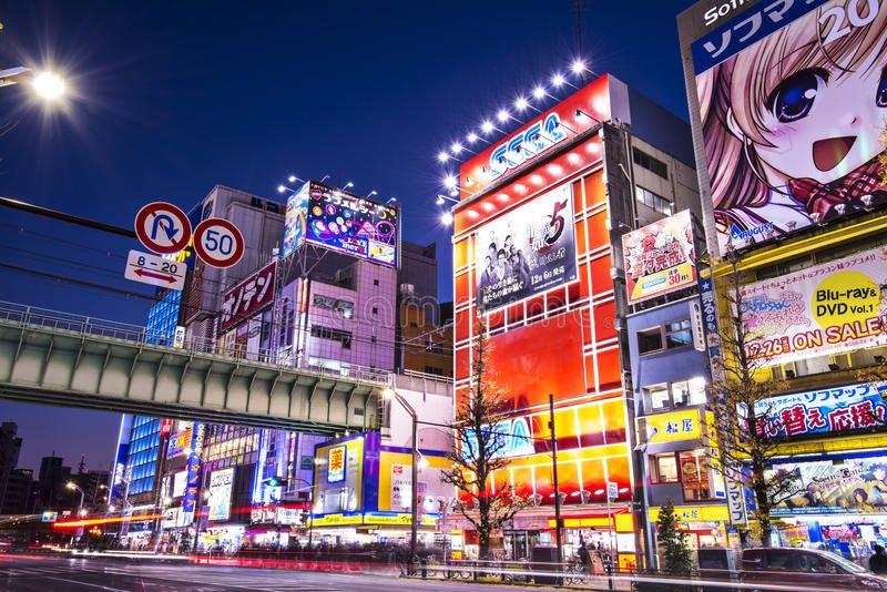 Akihabara tokyo january 2 akihabara district january 2