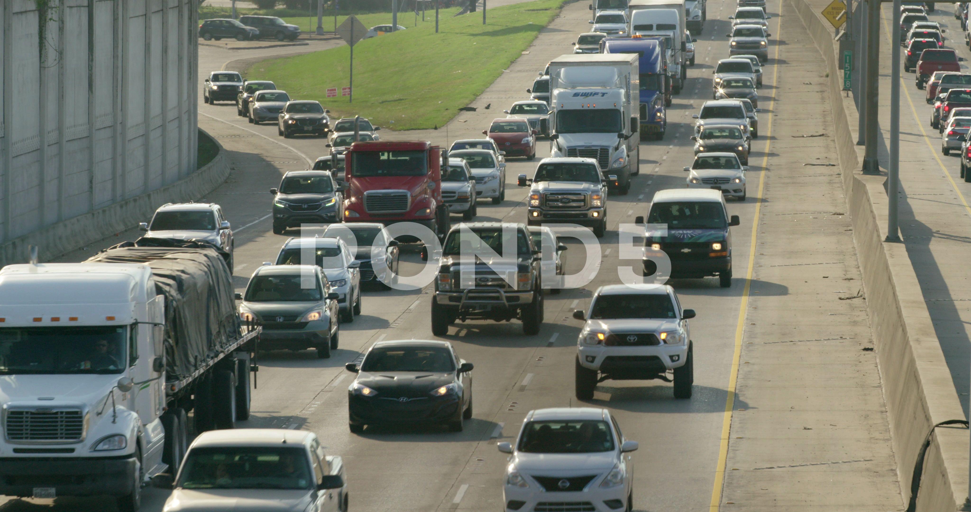 Baton Rouge Louisiana interstate 10 i 10 urban city traffic