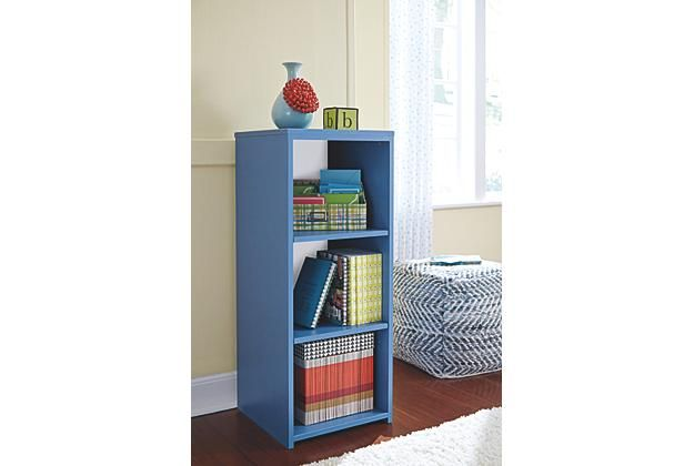 Blue Bookcase Ashley Furniture Home Arkansas Largest Come By And