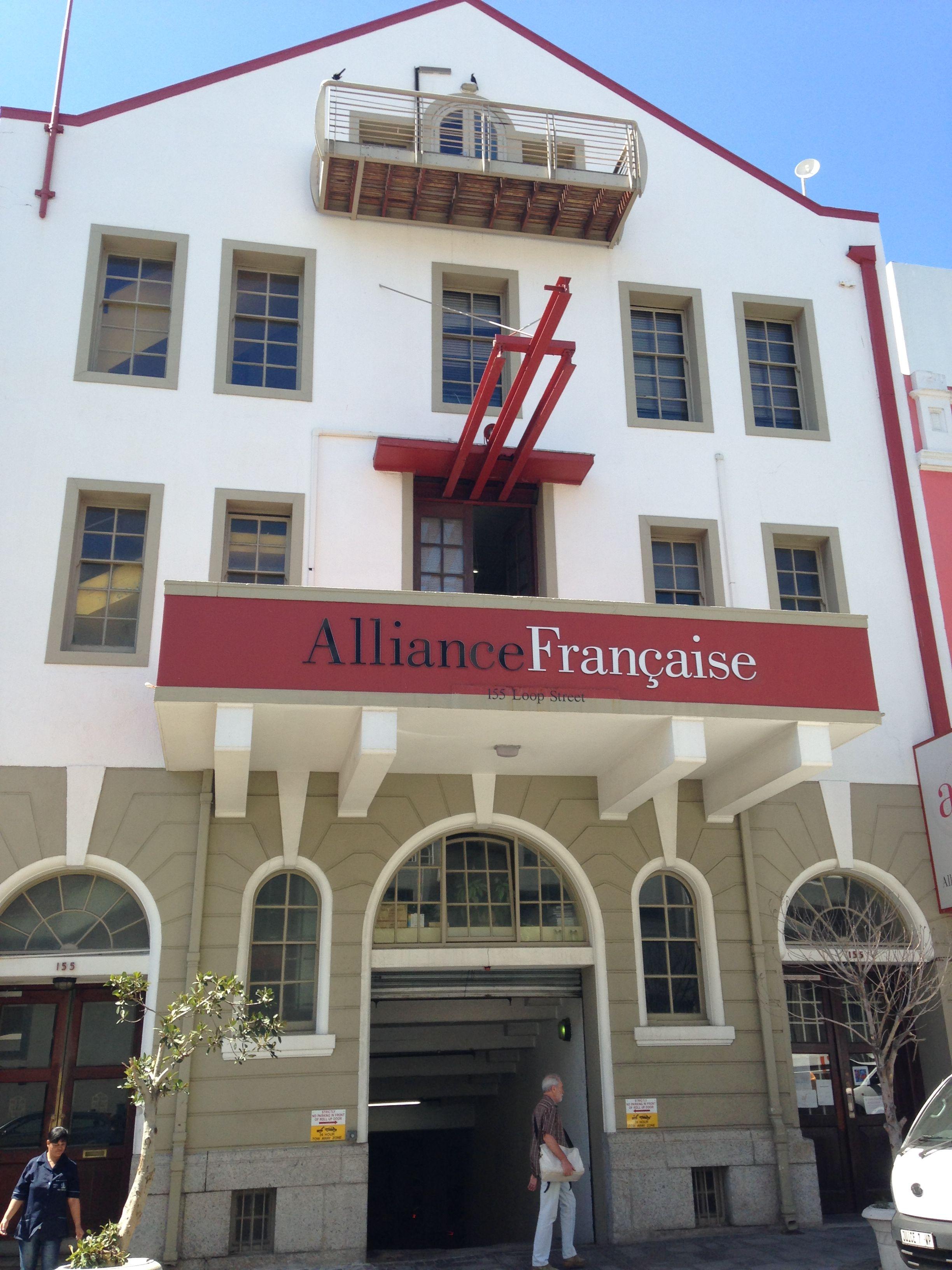 usine authentique nouvelle qualité prix pas cher Francaise Alliance building | Cape Town - My Walk Abouts ...