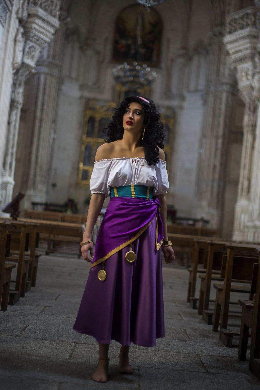 Costume Halloween Esmeralda.Pin By Zoe Brocklehurst On Fancy Dress Esmeralda Cosplay Disney