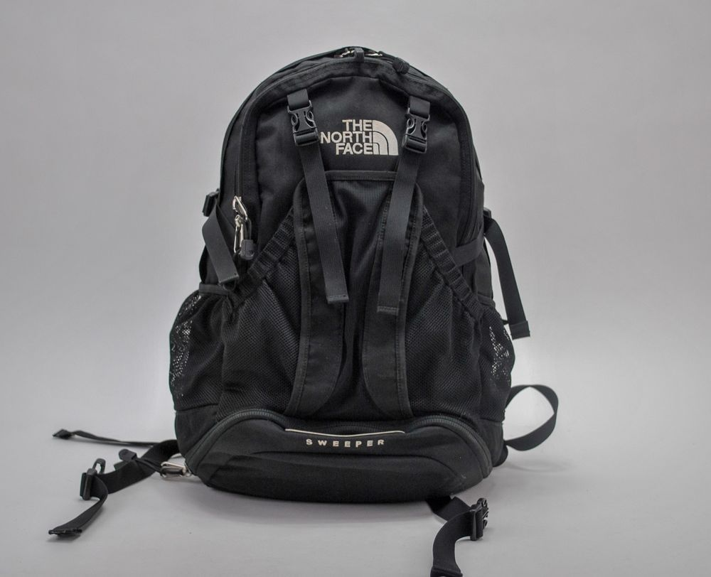 a1c925d781d The North Face Sweeper Backpack Black Day Pack Travel Hiking Camping  #TheNorthFace #Backpack