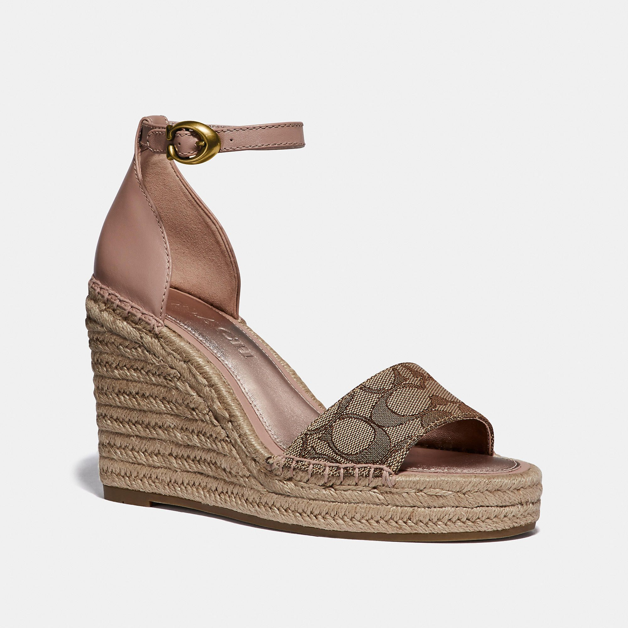 f6171fb9e19 Coach Kit Wedge Espadrille in 2019 | Products | Espadrilles, Wedges ...