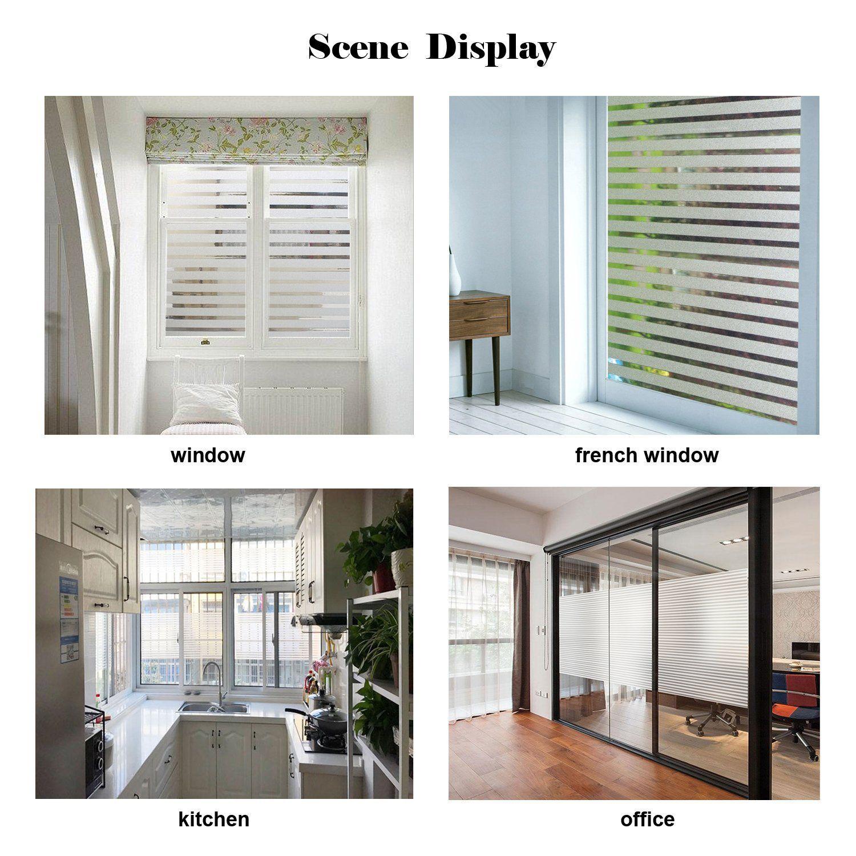 Zindoo film vitre film solaire anti chaleur uv autocollant vitre adhesif opaque fenetre film - Film isolant chaleur fenetre ...