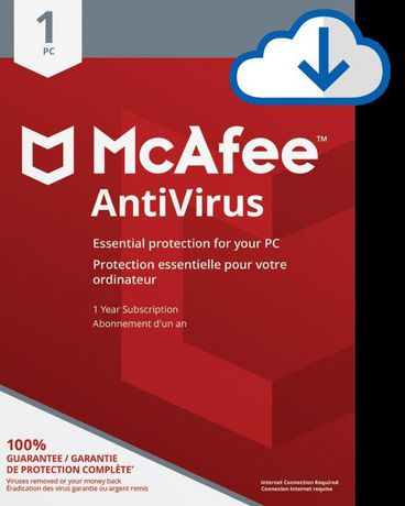 Pc Mcafee Antivirus 1 Pc [Download] | Products in 2019