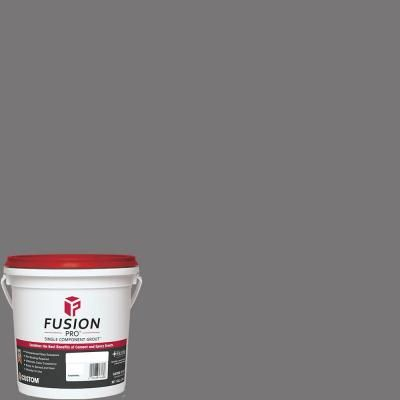 Custom Building Products Fusion Pro #19 1- gal. Pewter Single Component Grout-FP191-2T - The Home Depot