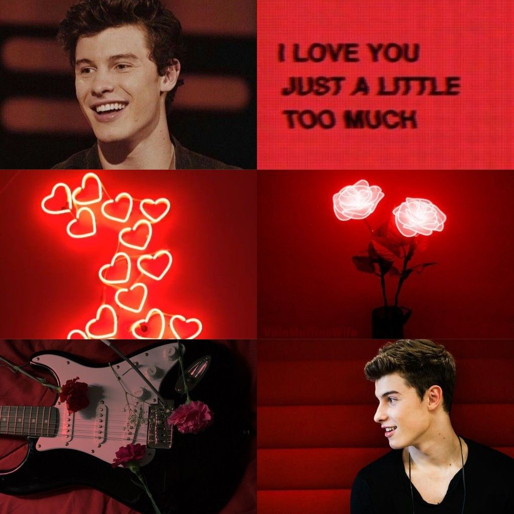 Shawn Mendes Red Aesthetic Shawn mendes wallpaper, Shawn