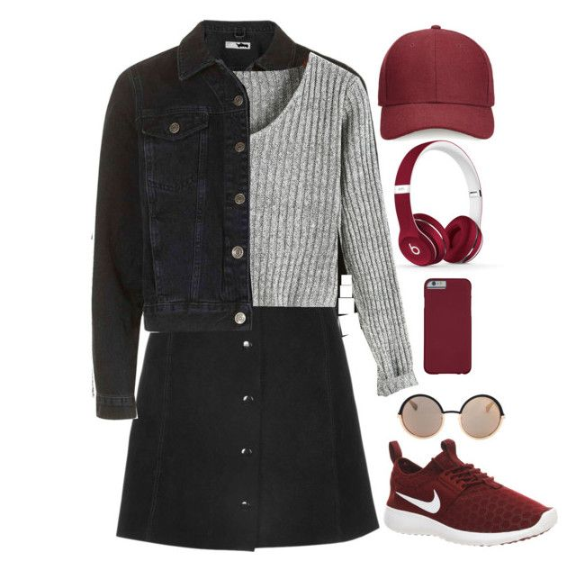 """""""highway to never"""" by stellarosee on Polyvore featuring Whistles, NIKE, Beats by Dr. Dre and Marc by Marc Jacobs"""