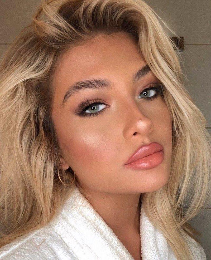 200 Best Makeup Ideas For Any Season To Enhance Your Beautiful Facial Features Glowy Wedding Makeup In 2020 Makeup Looks Natural Makeup Looks Dance Makeup