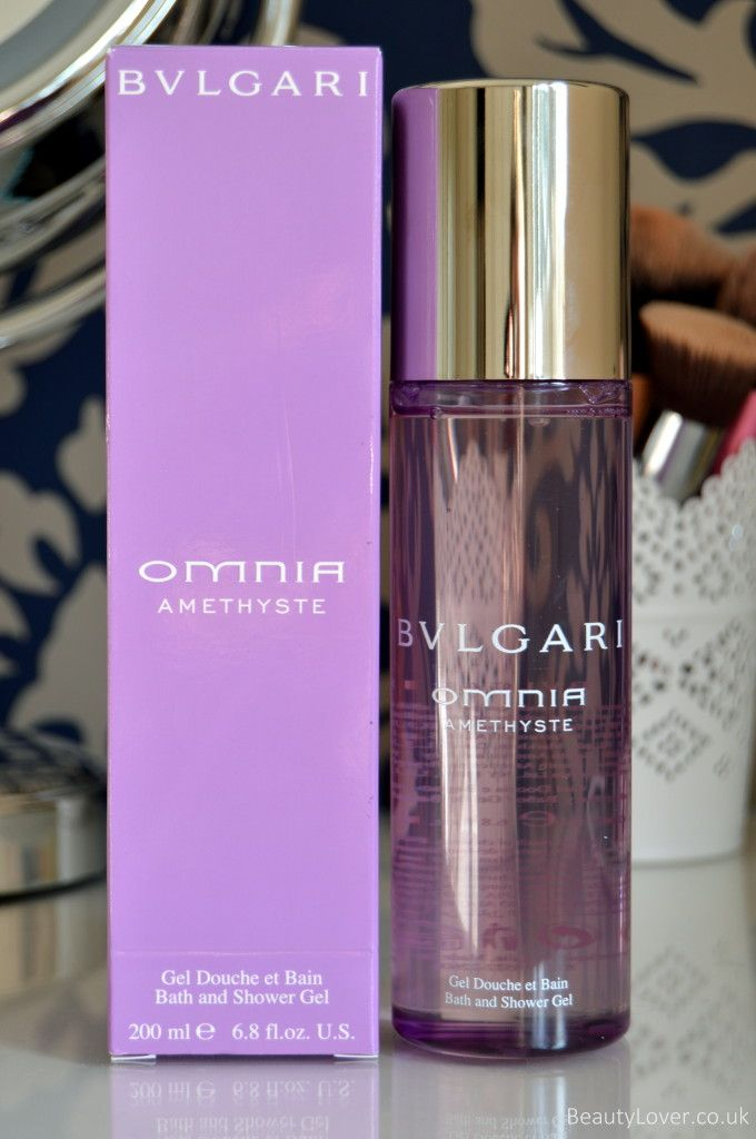 Bvlgari Omnia Amethyst Bath and Shower Gel | Review