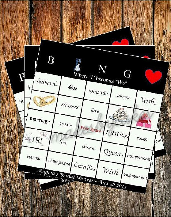 Best 25+ Bridal shower bingo ideas on Pinterest | Bridal ...