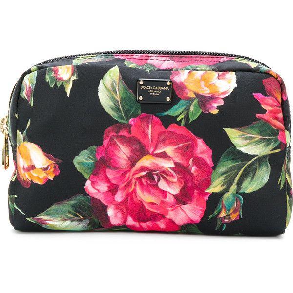 330788d8db Dolce   Gabbana rose print make-up bag (15