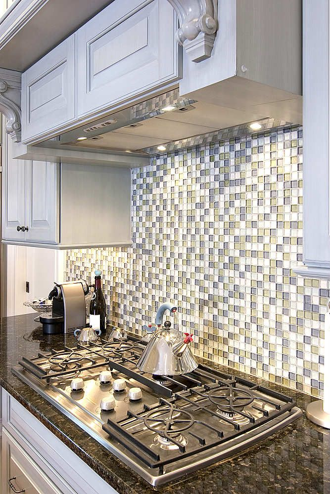 backsplash! but beach glass colors! Kim\u0027s awesome stuff