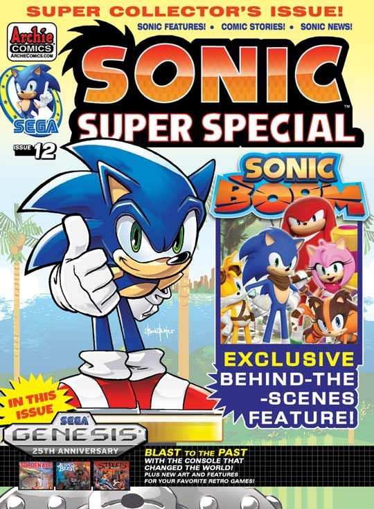 sonic super special 12 buy it now at the archie comics online