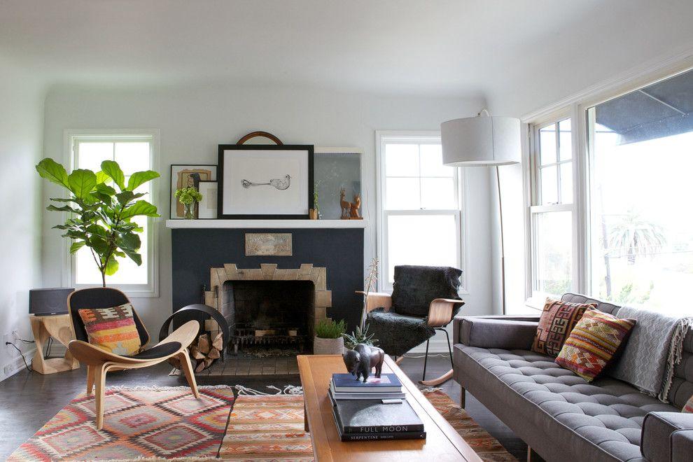 20 Captivating Mid Century Modern Living Room Design Ideas Rugs