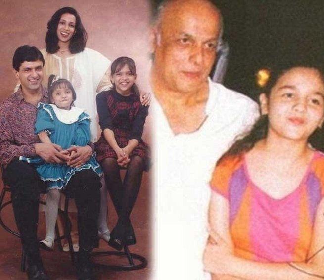 Deepika Padukone Alia Bhatt Unseen Pictures Of Bollywood Stars With Parents Bollywood Stars Bollywood Alia Bhatt