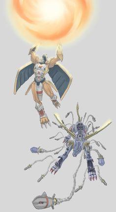 """""""Digimon Adventure"""" Una serie entretenida, para un alma de niño, diseños…"""