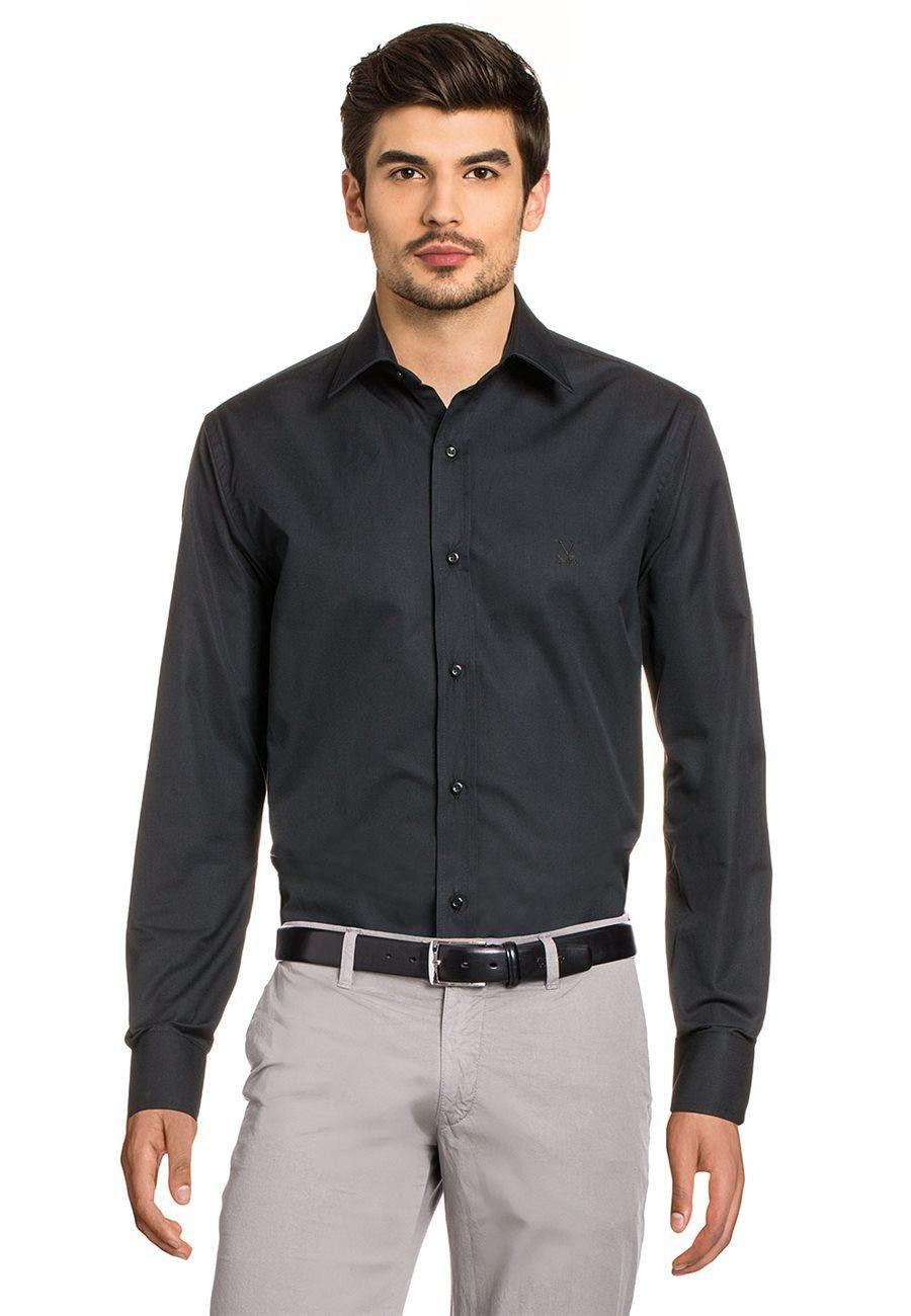 Versace 19.69 Abbigliamento Sportivo Srl Milano Italia Fit Modern Classic Shirt 377 ART. 06