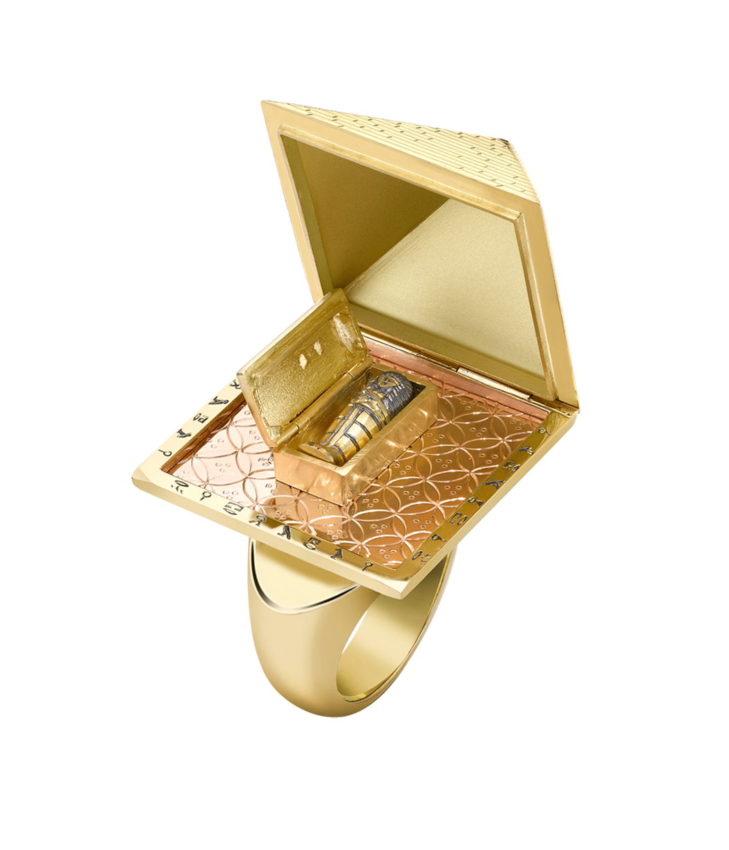 Theo Fennell - The Pyramid Ring - not sure how comfortable or practical this ring would be to actually wear, but it certainly would be a talking piece!