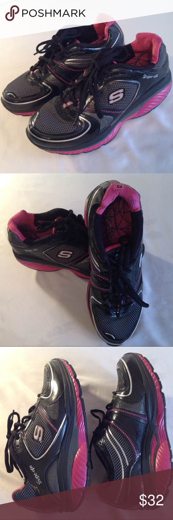 skechers shape ups womens size 7