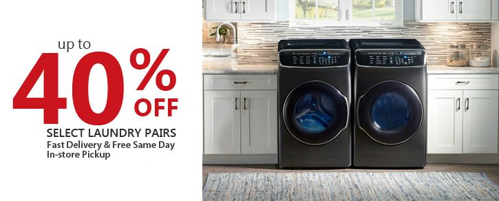 Washer Dryer Bundles On Sale Get Fast Delivery Or In Store