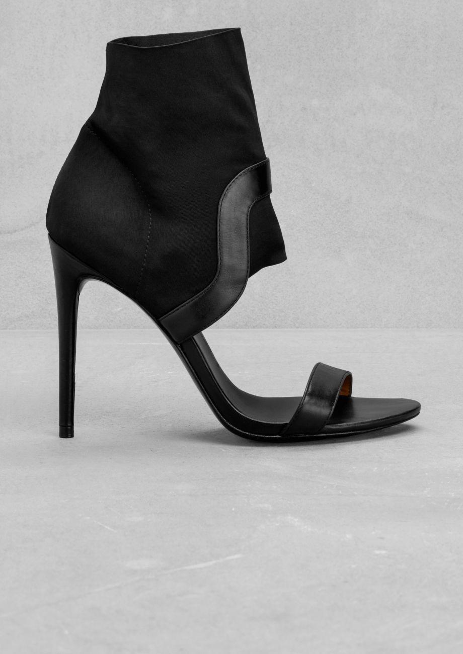Nice stretch pattern  & Other Stories | Stiletto Sandals