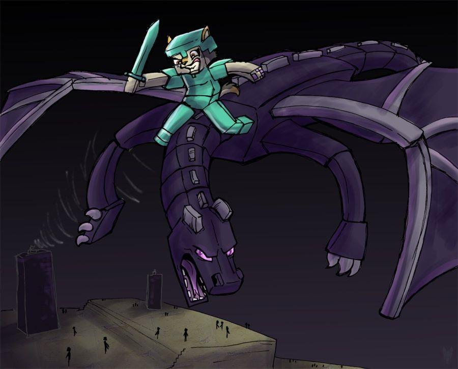 Amigurumi Ender Dragon : Enderdragon animation ENDERDRAGON Pinterest ...