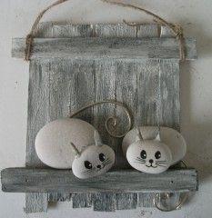 pin von brigitte lehmann auf katzen aus steinen pinterest. Black Bedroom Furniture Sets. Home Design Ideas
