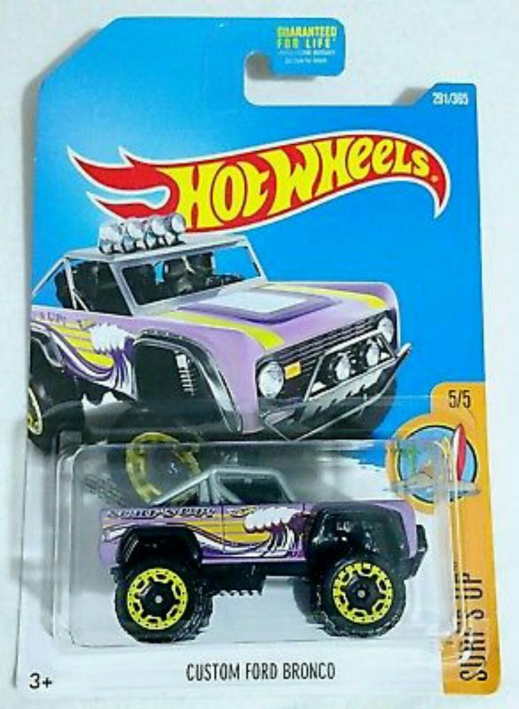Custom Ford Bronco #291 Surf\' Up Lot of 2 Hot Wheels Cars for sale ...
