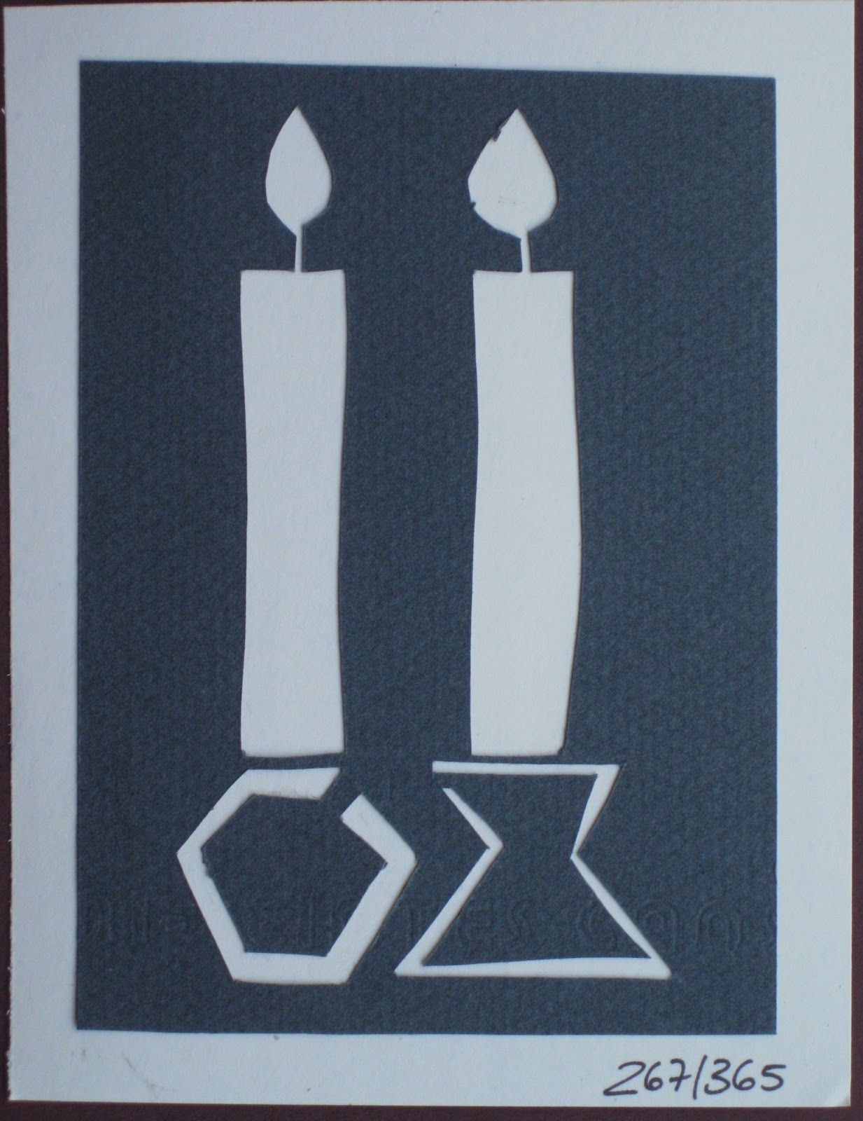 MazeCard: Jewish papercuts