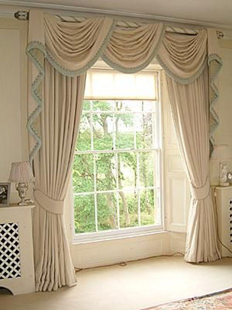 44 Beautiful Home Curtain Ideas For Your Interior Design To Looks Elegant Trendehouse Home Curtains Elegant Curtains Curtains With Blinds