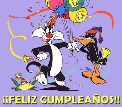 Los Personajes De Los Looney Tunes Te Desean Un Feliz Cumpleaños ツ Imagenes Y Tarjetas Para Looney Tunes Wallpaper Baby Looney Tunes Cute Cartoon Characters