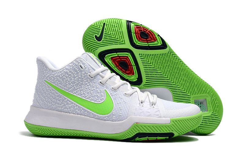 "Nike Kyrie 3 ""Mountain Dew"" White/Light Green For Sale"
